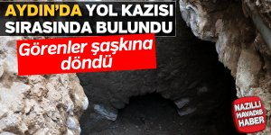 Aydın'da yol kazısı sırasında bulundu