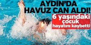 Aydın'da havuz can aldı