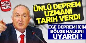 Deprem uzmanı Ahmet Ercan'dan flaş açıklama