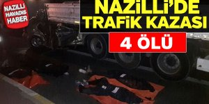 Nazilli'de korkunç kaza: 4 ölü