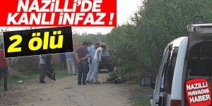Nazilli'de kanlı infaz: 2 ölü