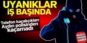 Kaçakçılar Aydın polisinden kaçamadı