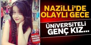 Nazilli'de üniversiteli genç kız intihar etti