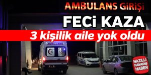 Feci Trafik Kazası; 3 ölü
