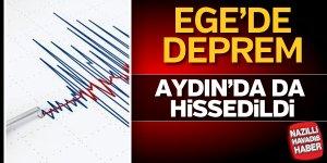Ege'de depremler devam ediyor