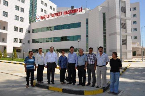 400 Yataklı Devlet Hastanesi'nin Geçici Kabulü Yapıldı