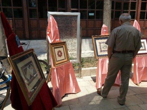 Aydın'da Müzehhibelerin Eserleri Göz Doldurdu