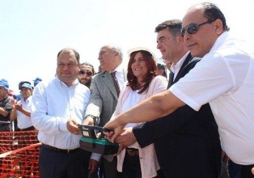 Büyükşehir Belediye Başkanı Çerçoğlu Karpuzlu'ya Çıkarma Yaptı
